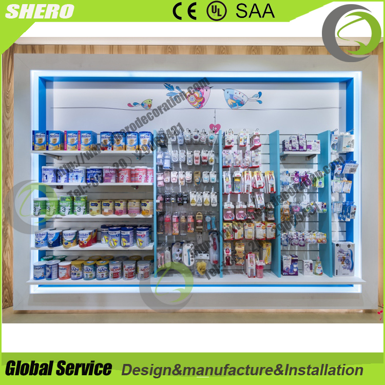 Unique hot sale pharmacy furniture for display pharmacy furniture for sale