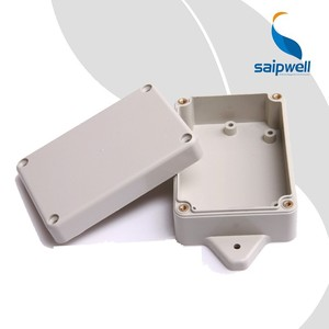 Saip/Saipwell SP-F4-1 Waterproof Enclosure Box with Ear Cable Gland High Quality IP65 Junction Box for Electronics