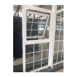 Top-quality awning window with hollow glass top quality new style european standard aluminum thermal break windows