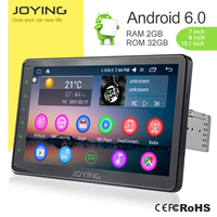 GPS Bluetooth 10.1'' Touch Screen Android Car Dvd Player For Universal Car With Reversing Camera 1 Din Radio