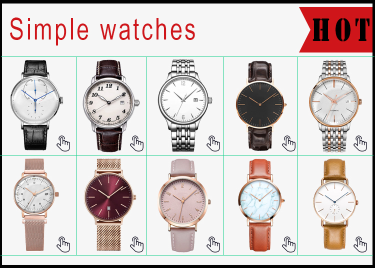 カスタムロゴブランド自身腕時計 make カスタムクロノグラフウォッチ oem