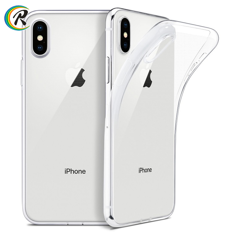 Phone case and accessories Ultra thin Slim Clear Soft TPU <strong>Cover</strong> for iPhone X XS max XR case Support Wireless Charging