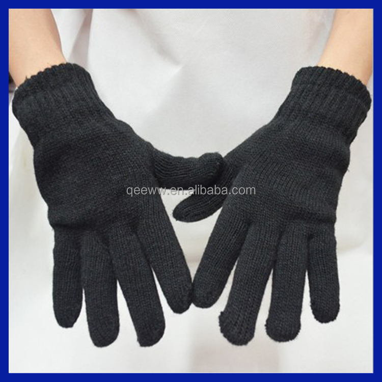 Amazon Supplier Mens 3m Black Thinsulate Thermal Lined Winter Gloves