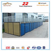HDPE hot dip galvanized steel horse stable panels