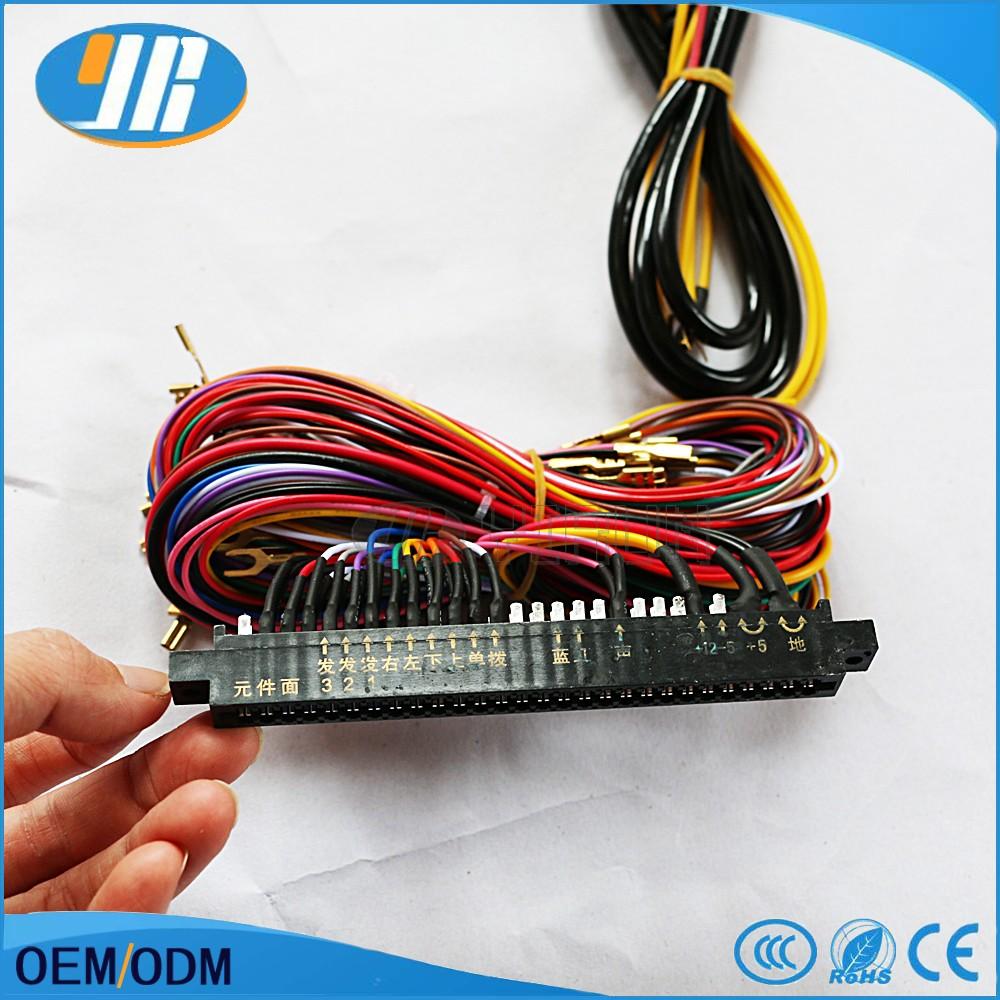 28 Pin Arcade Jamma Board Machine Wiring Harness Circuit 7