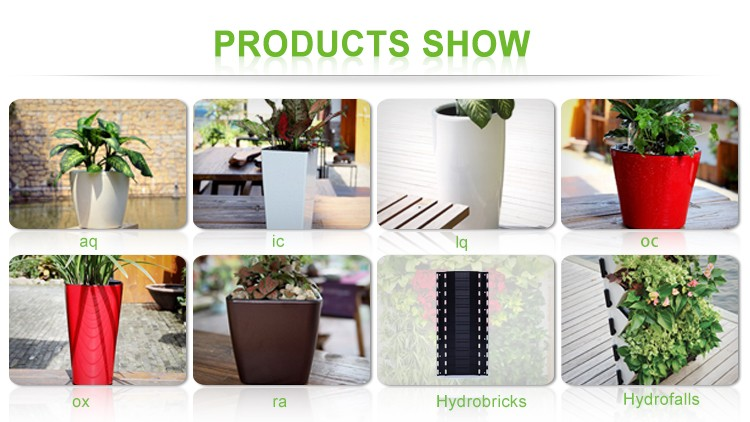 Hydrofall Vertical Planter,living Wall,green Wall,Plastic Self Watering  Vertical Gardening System
