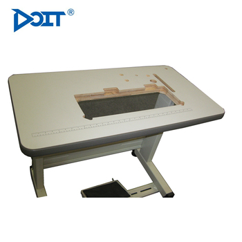DT0590 Industrial Sewing Machine Stand Plastic Edge Sewing Machine Table  Stand