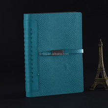 Newest Execustive Refillable leather bound journal hard cover notebook