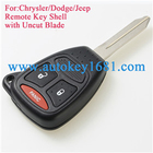 Remote Key Case Shell 2+1-button fit for chrysler Dodge Dakota Dodge Durango JEEP Chrysler