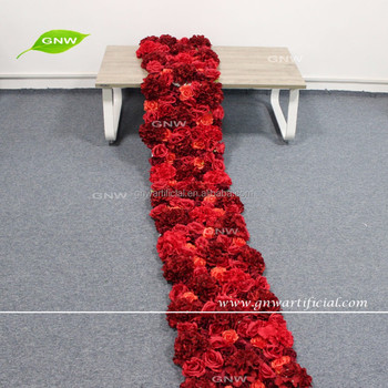 Gnw Flw1606007 Gar 10ft High End Artificial Red Rose And Hydrangea