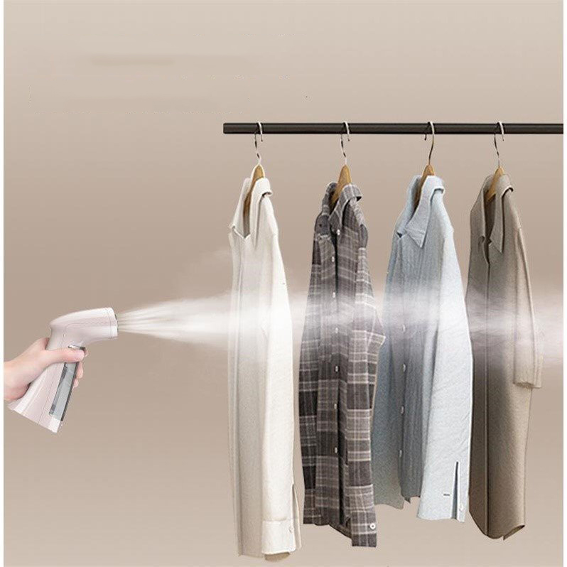 Mini hand garment steamer garment