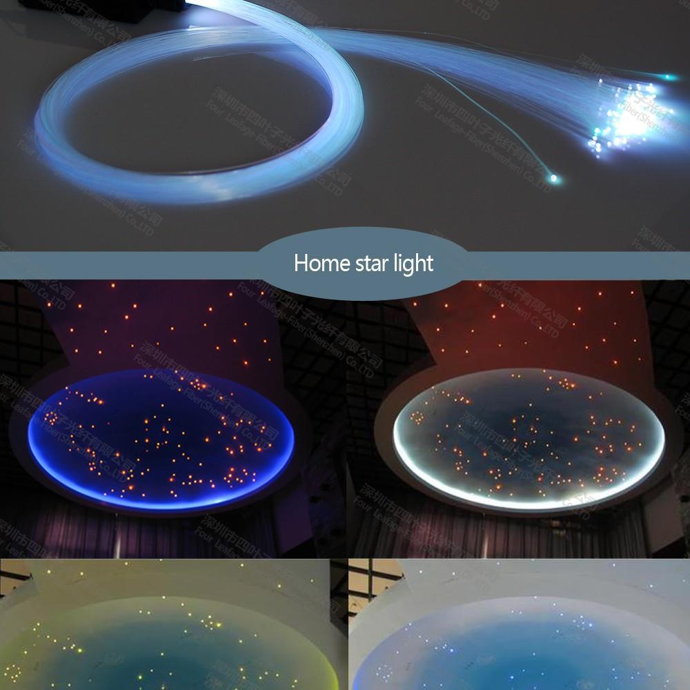 7w cielo stellato a led star soffitto luce in fibra ottica per la ...