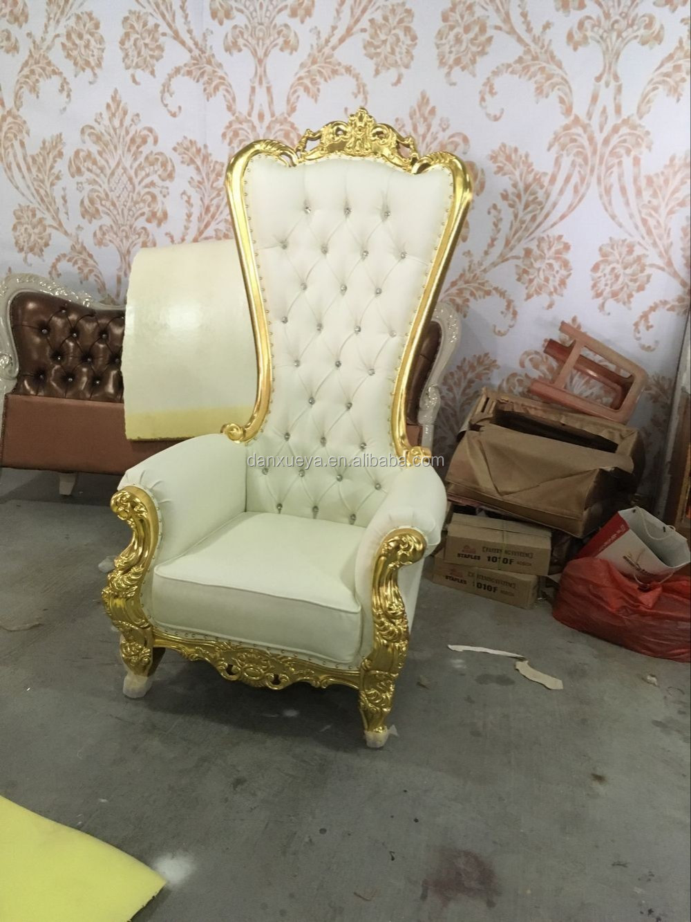 Hotel White Wedding Furniture Wholesale King Chair Buy