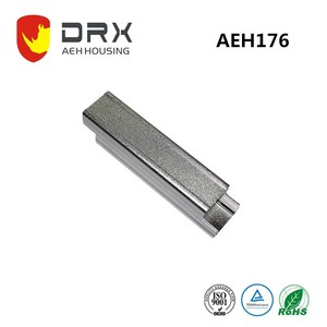aluminum die casting Hot Sell led extruded aluminum electronic housing W25*H25mm