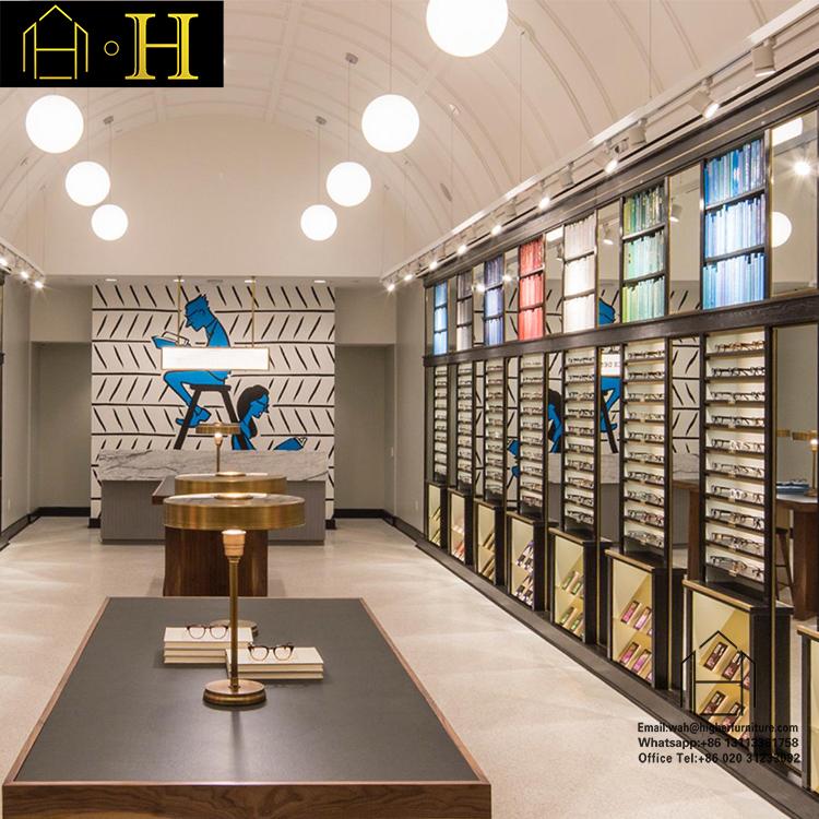 Trung quốc kính mát hiển thị tủ là viết tắt của kính showcase