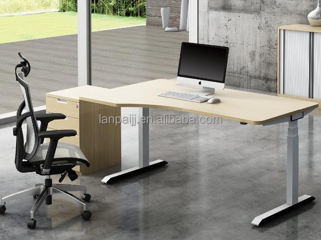 Électrique table de bureau à hauteur variable design haut de gamme