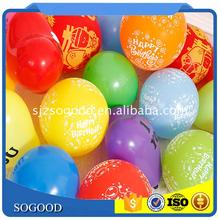 Hot sale silk screen printed balloon with low price