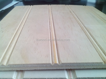 Radiata Pine V Grooved Ply 10mm Grooved Plywood Siding