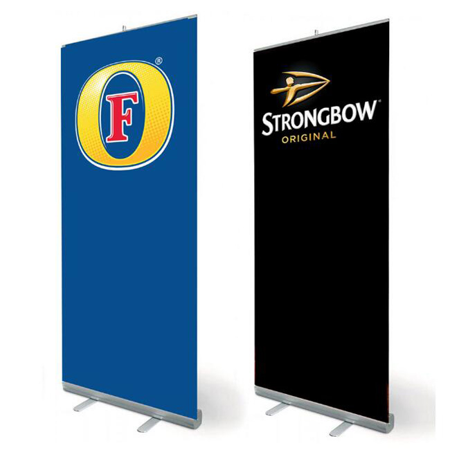 Pop Up Stand Banner Intrekbare Roll Up Banner Stand Voor Sport