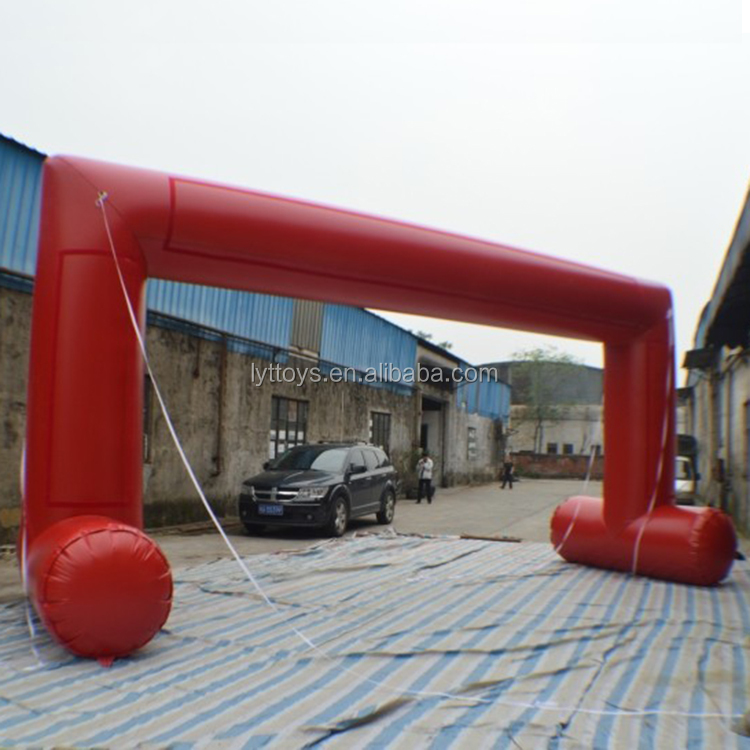 Best Grade cheap inflatable finish line arch door for sale