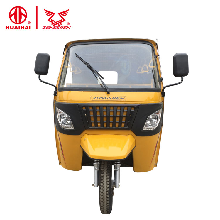 200CC engine closed passenger tricycle scooter for india market