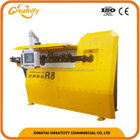 CNC automatic stirrup sheet metal bending machine with specification
