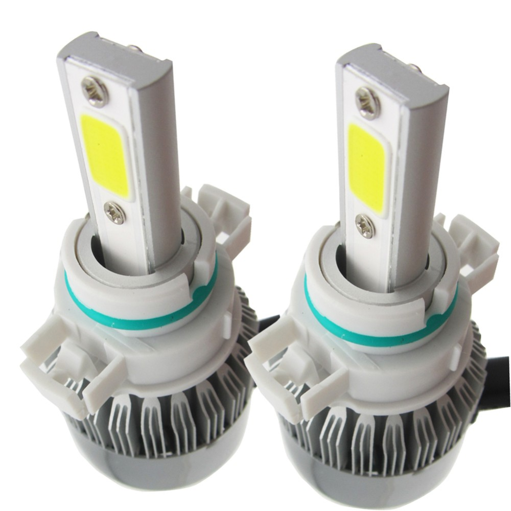 C6 High Power COB chips 12V 3600LM 72W H4 H8 H9 H11 Car LED Head Light for all Car