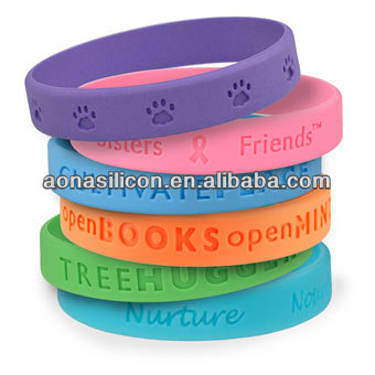 Promotional cheap silicone bracelet