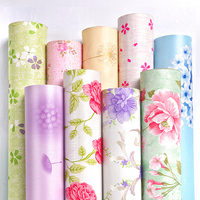 Beautiful scenery natural wallpaper for home wall decoration ,floral flower mural wallpaper 3d