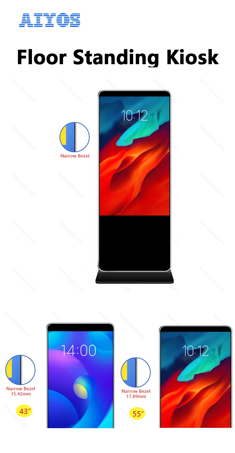 Factory price advertising display with LCD screen