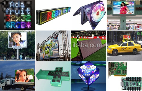 retail store monitor led video display board brochure media player 7 segment led module truck advertisement led panel