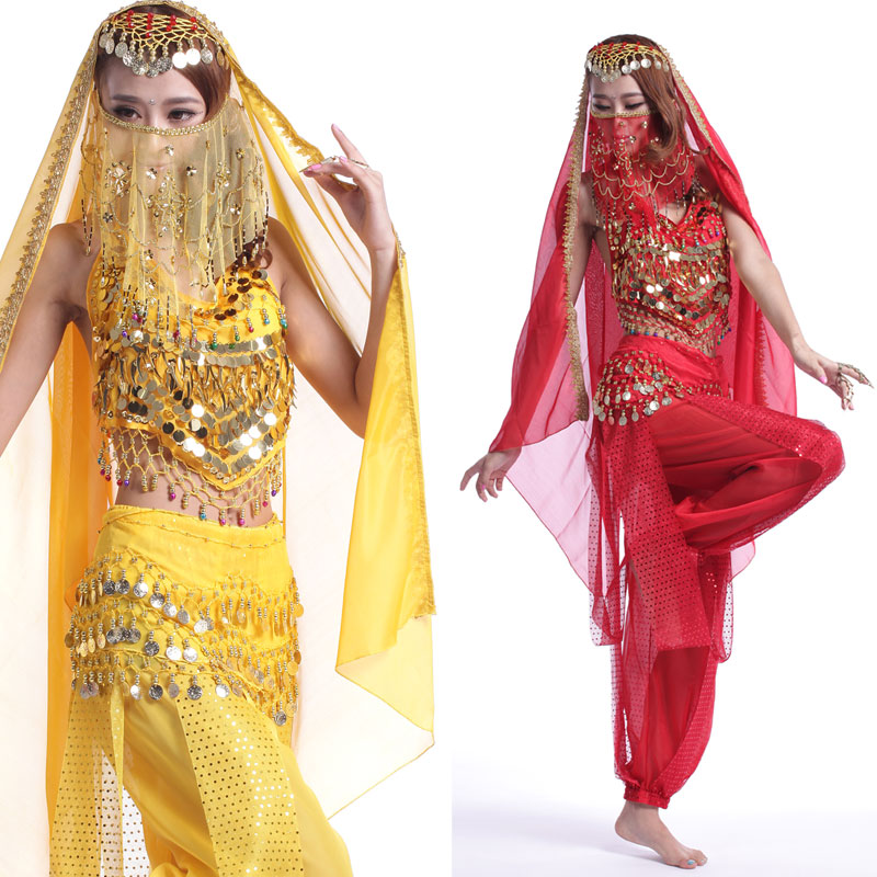 2f3efc5fe Get Quotations · Belly dance set indian dance set clothes indian dance  clothes dance costume