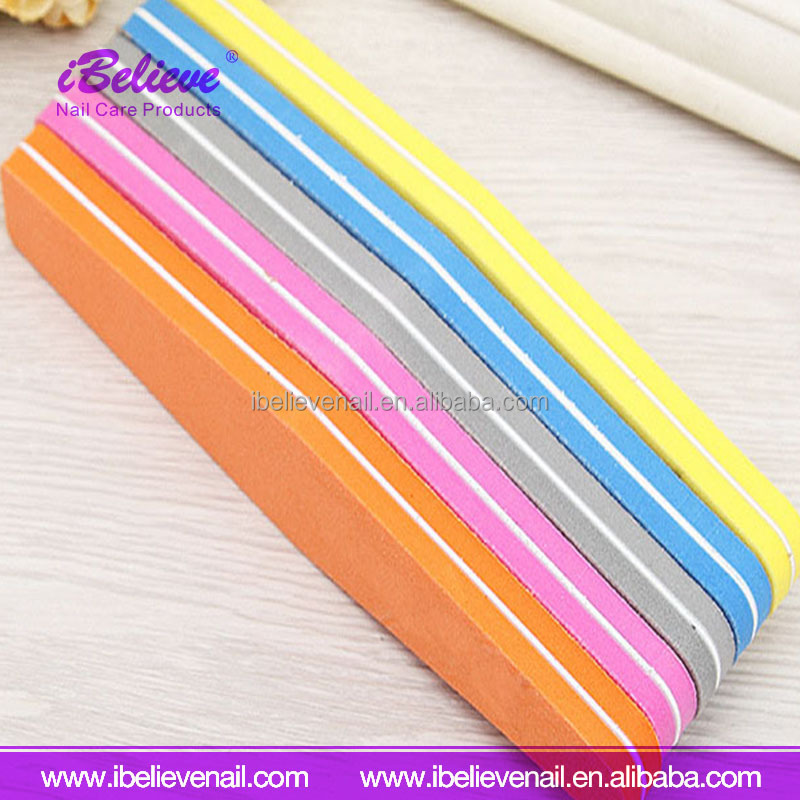 Hot Selling Nail Art Buffer File EVA 180/240 Grit Cheap Nails File For Christmas Promotion