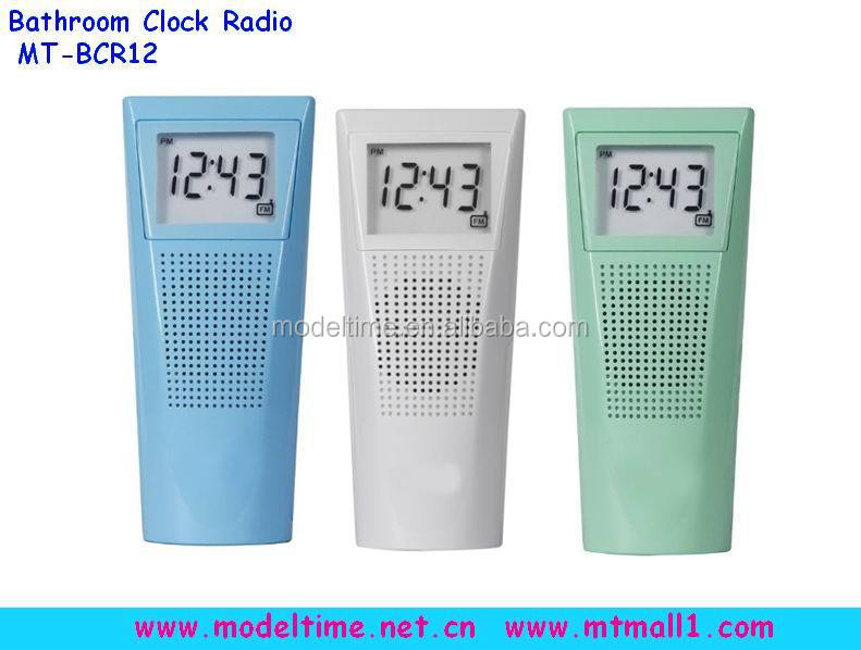Splash- Bestendig Badkamer Klok Am/fm Radio - Buy Product on ...