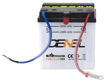 12v 2.5ah battery motorcycle battery manufacturer price