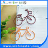 Beautiful shape of bicycle paper clip creative gift