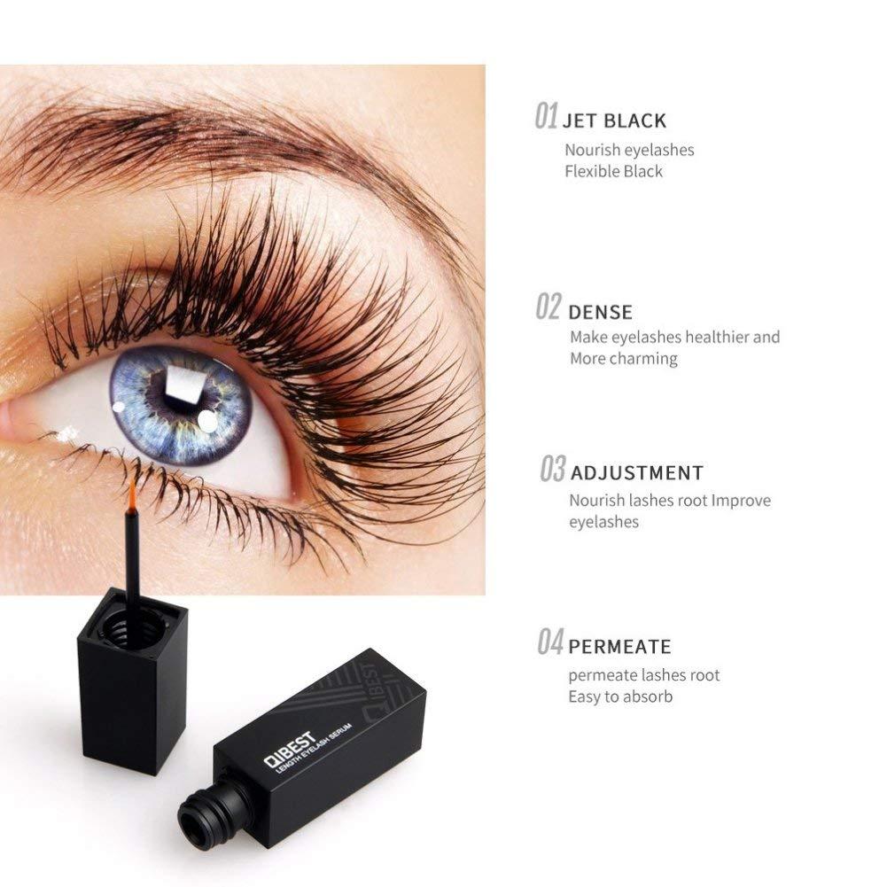 e200ff05c78 Get Quotations · Eyelash Growth Serum & Eyebrow Enhancer Primer for Longer  Thicker Healthier Lash & Brow (6g