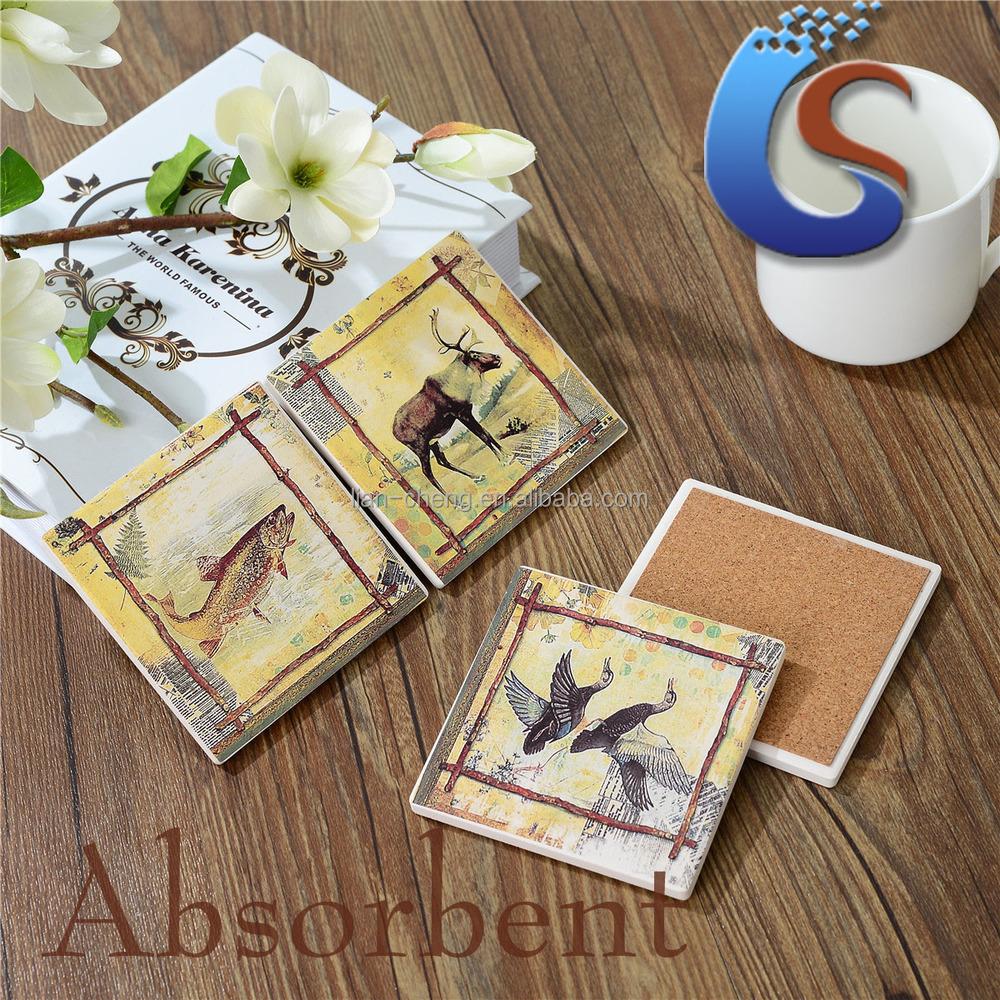 Blank ceramic tile coaster buy blank tile coaster product on blank ceramic tile coaster dailygadgetfo Images