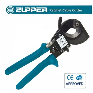 ZUPPER TCR-325 Manual Wire Rope Cutter Hand Ratchet Cable Cutting Tools