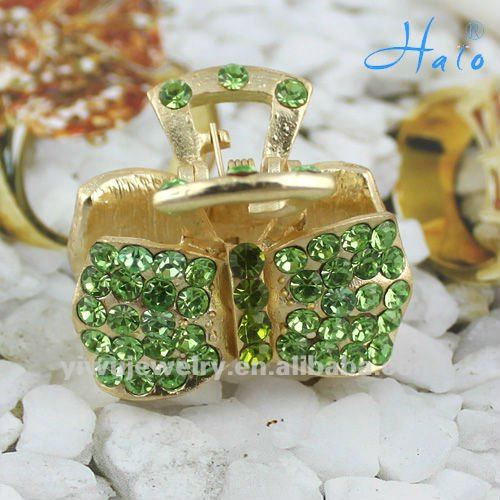 2012 Fashion Crystal Mini Hair Claw