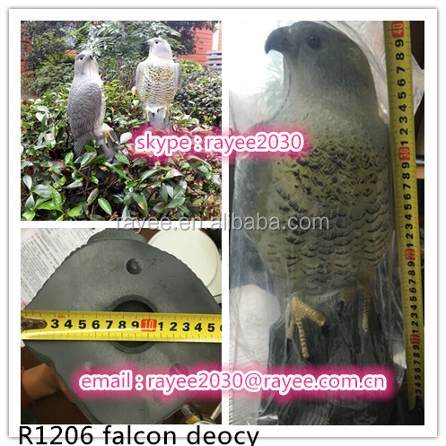 Gardener Enemy Scarecrow Great Hawk Decoy, Falcon Decoy