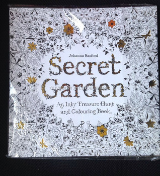 Adult Coloring Books Secret Garden Book