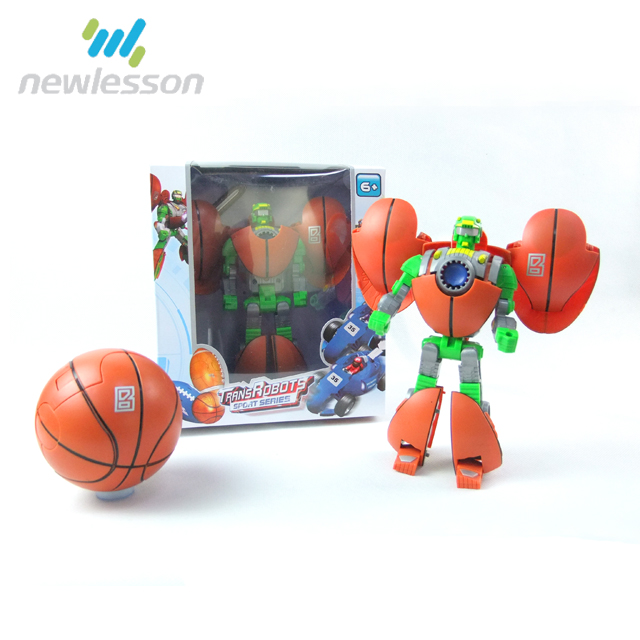 Can Print Logo Sport Series Basketball Wholesale Souvenirs Robot Toy