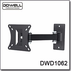 "Tlit Full Motion for 17""-55"" inch corner curved folding tv wall mount"