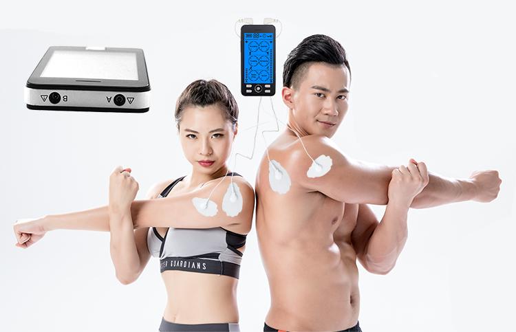 SM9089 Advanced tens machine pain relief unit apparatus for massager