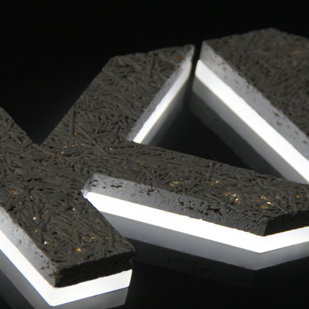 LED 3D Channel Letters Electronic Sign Lighting Frame less Character Alphabet Letter Custom Free Standing Laser Cut Manufacturer