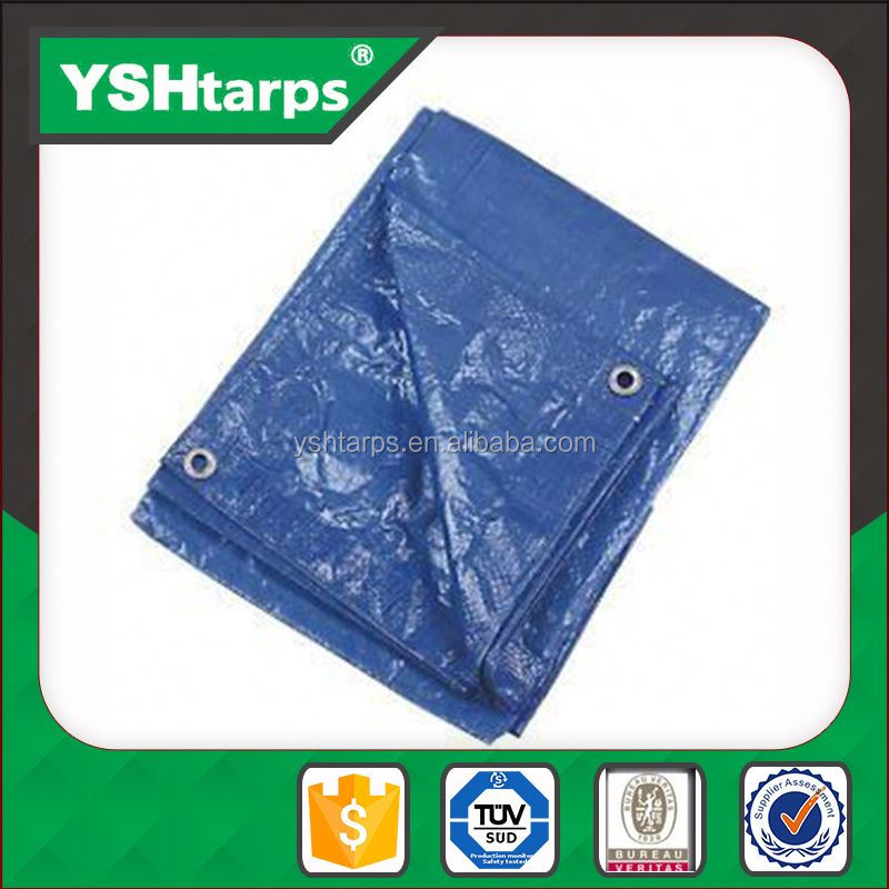 Construction Material Plastic Sheet Woven Fabric For Unicef