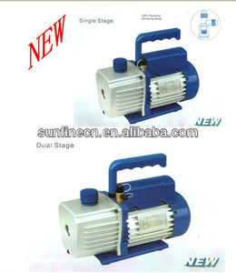 Singel/Two Stage rotary vane Vacuum Pump for refrigerating system