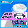 Gas mini commercial flower Cotton Candy Floss Machine Cotton candy cart automatic cotton candy machine type flower