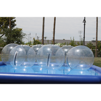 clear pvc pool water ball inflatable bubble floating water polo balls